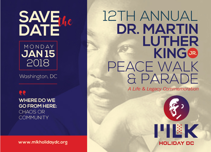 WIC Sponsors MLK Holiday DC Peace Walk and Parade