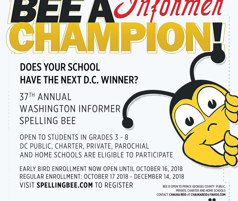 Bee A Champion at the Washington Informer Annual Spelling Bee