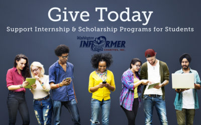 Give Today for Internship & Scholarship Programs