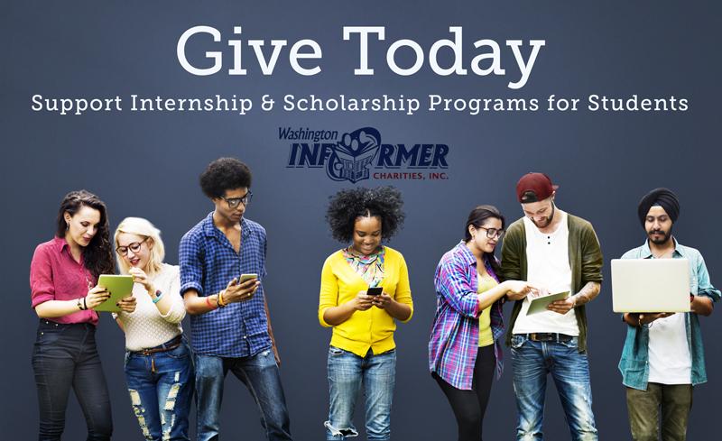 Give Today for Internship & Scholarship Programs