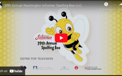 39th Annual Spelling Bee {Video}